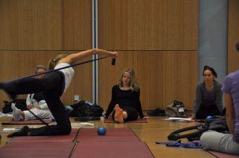 Gesunder Entspannungssport - Pilates. Eine Liste von qualifizierten Lehrern findet sich auf der Webseite des Deutschen Pilates-Verbandes e.V.