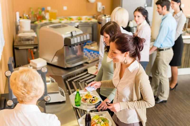 Cafeteria Kantine Arebitsplatz | © panthermedia.net /CandyBoxImages
