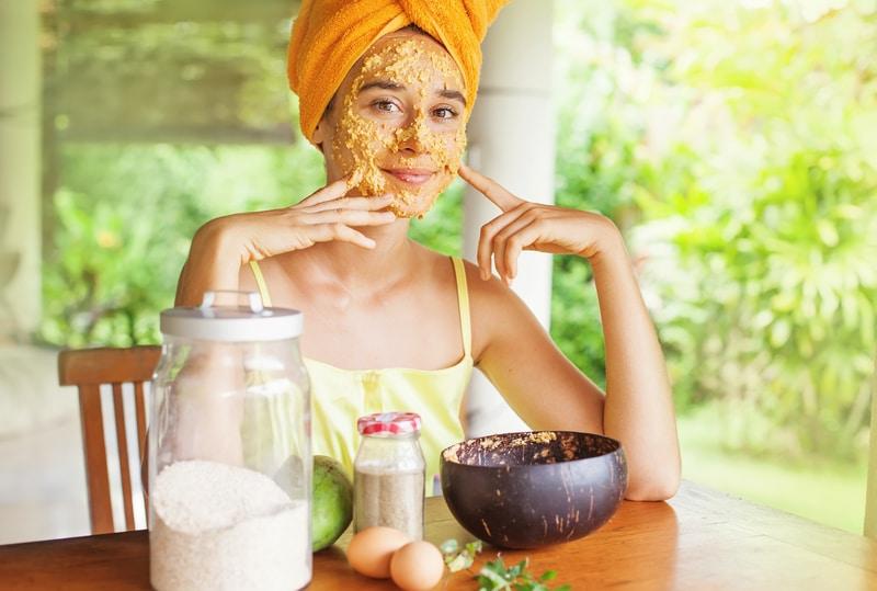 DIY Gesichtsmaske | © panthermedia.net /apid