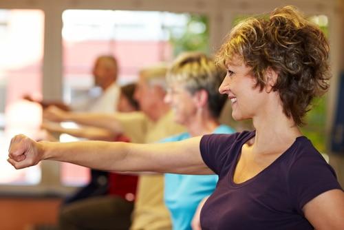Bewegung und Fitness ist wichtig für ein gesundes und langes Leben