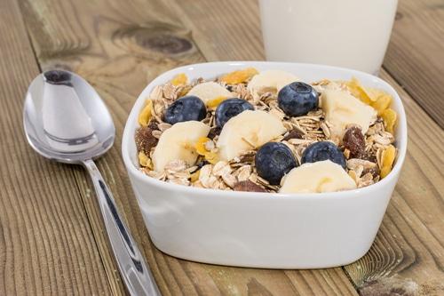 frühstück gesund müsli