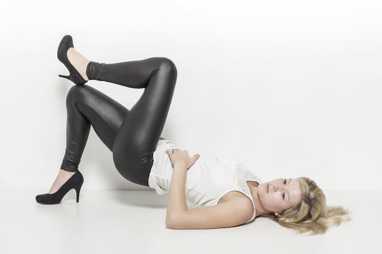 Leggings perfekt kombiniert |© panthermedia.net /Hans Eder