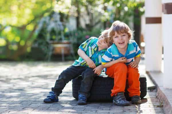 Spaß mit Kindern im Garten