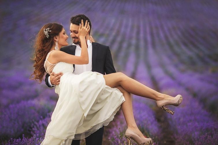 Hochzeit im Lavendel   © panthermedia.net /golyak