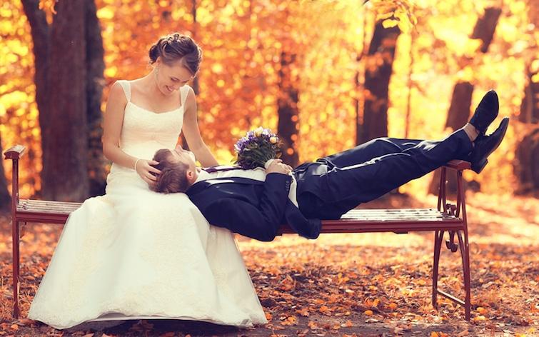 Hochzeit im Herbst | © panthermedia.net /xload
