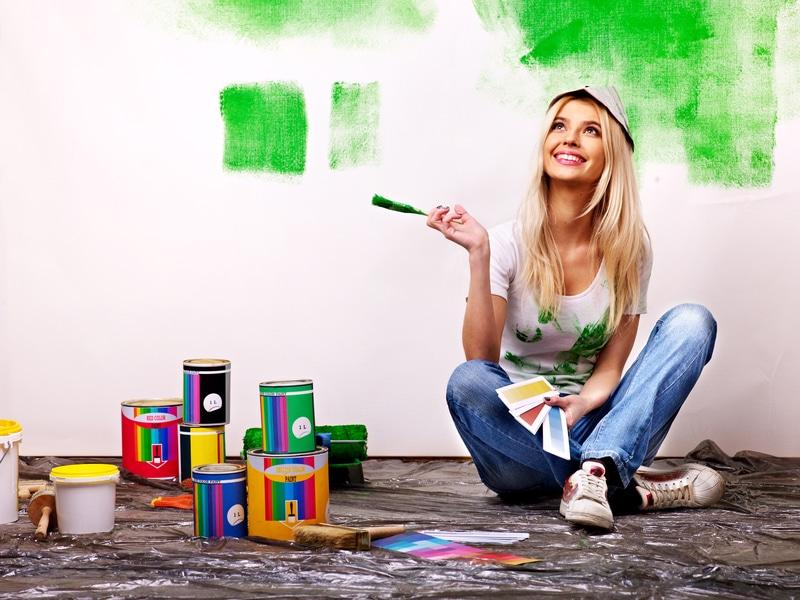 Wandgestaltung | © panthermedia.net /poznyakov
