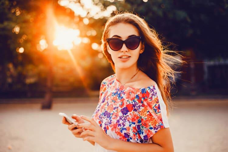 Braune Sonnenbrille | © panthermedia.net /sergey_causelove